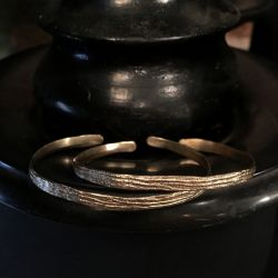 Bracelets Sitia vermeil par Emmanuelle Zysman