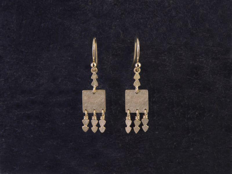 Eleni vermeil earrings