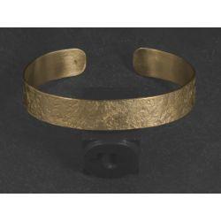 Bracelet Double Diane vermeil martelé par Emmanuelle Zysman