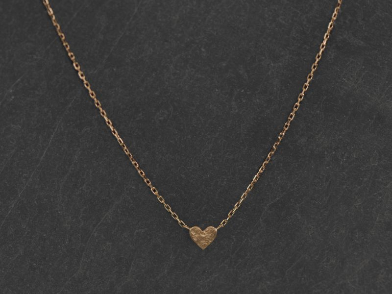 Collier Sweetheart or jaune