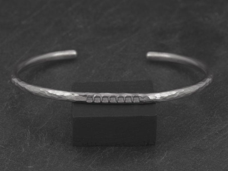 Bracelet Loulou argent rhodié homme