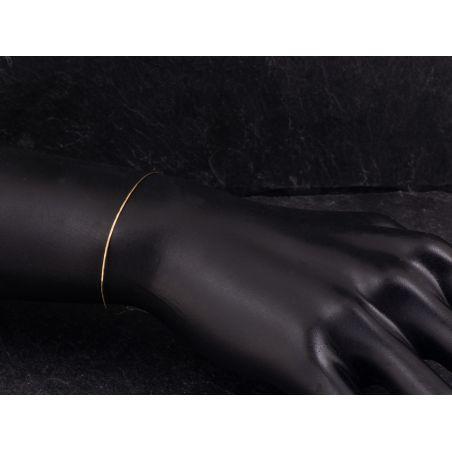 Bracelet Link or jaune par Emmanuelle Zysman