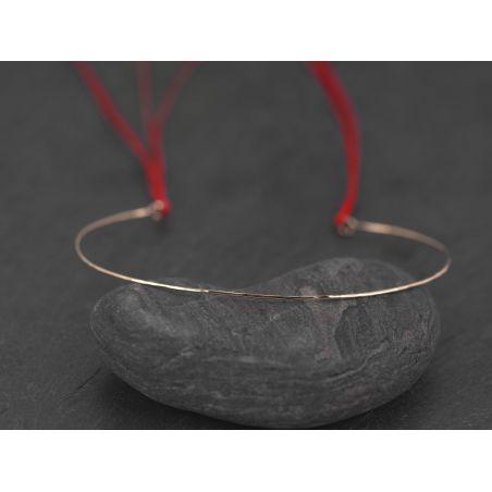 Bracelet Link or rose par Emmanuelle Zysman