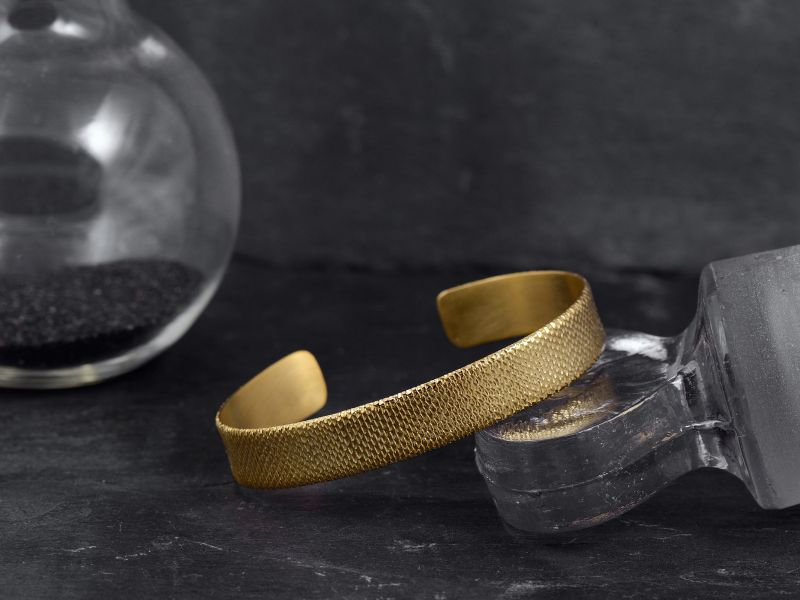 Tethys vermeil bracelet