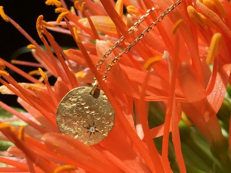 Astarte gold necklace