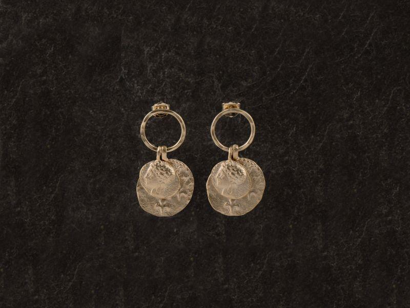 Delphes vermeil earrings