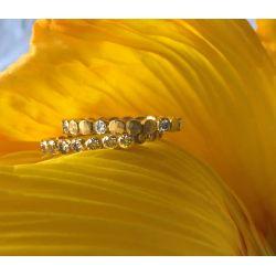 Honey allstars yellow gold ring by Emmanuelle Zysman