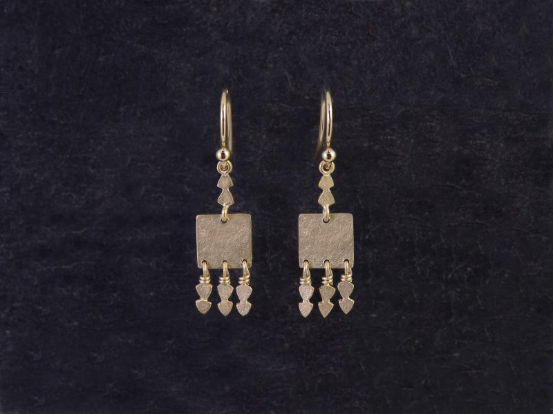 Eleni vermeil earrings