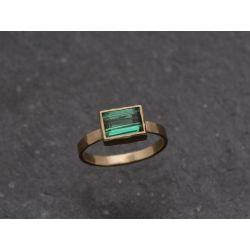 Melisande Mon Cheri sticky cut tourmaline ring