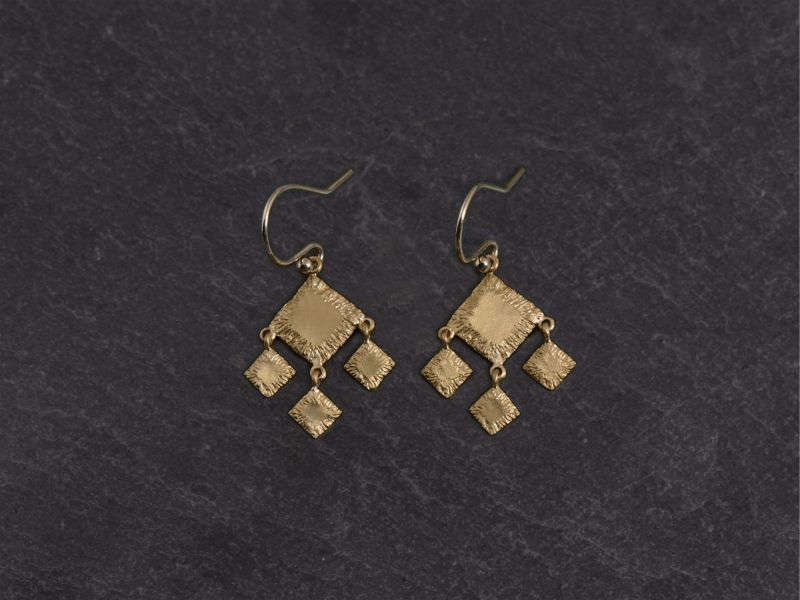 Sitia vermeil earrings