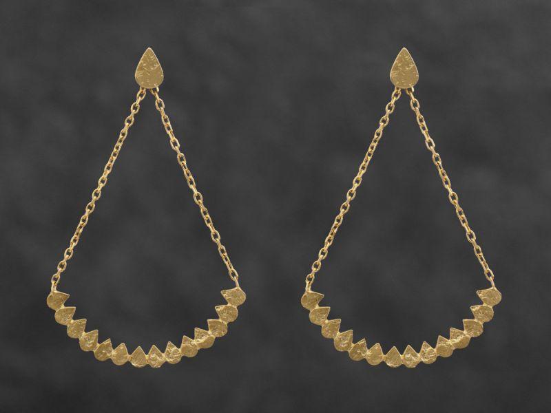 Swing Java vermeil  earrings