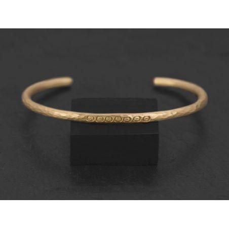 Loulou vermeil bracelet by Emmanuelle Zysman