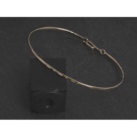 Nude vermeil bracelet by Emmanuelle Zysman