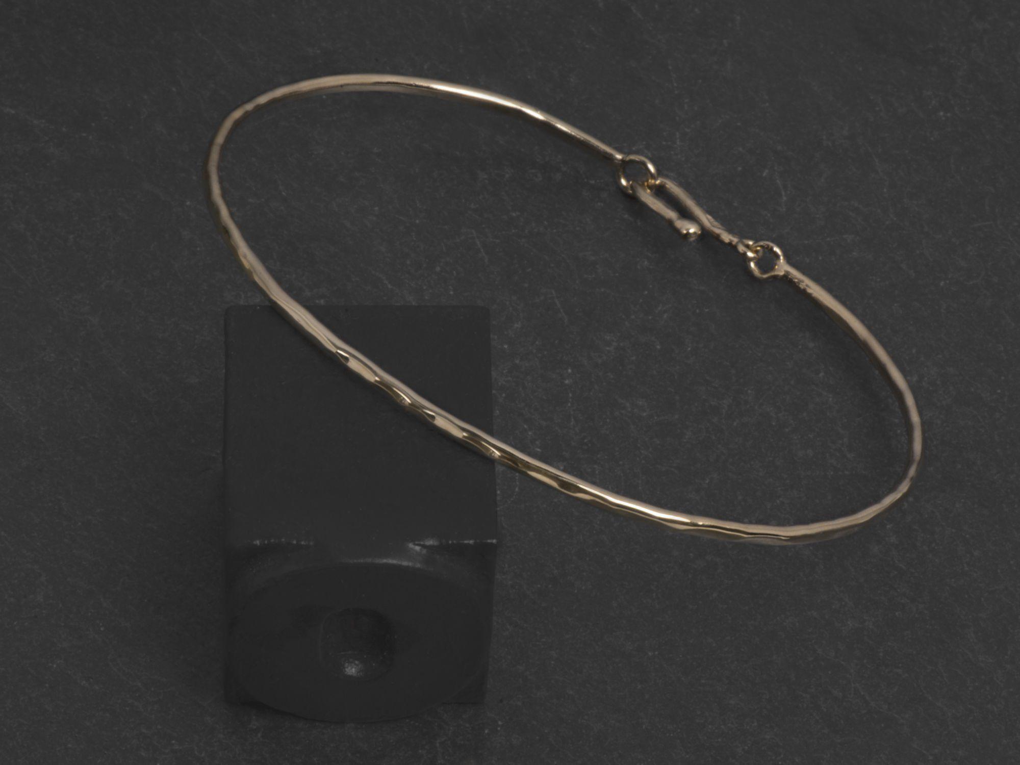 Bracelet Nude vermeil par Emmanuelle Zysman
