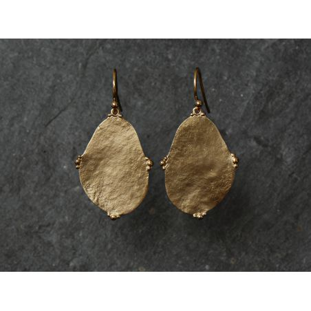 Bao Vermeil Earrings MM by Emmanuelle Zysman