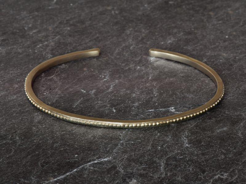 Bracelet Isolde vermeil par Emmanuelle Zysman