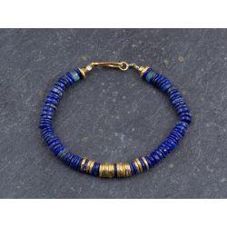 Lapis lazuli Bahia bracelet by Emmanuelle Zysman