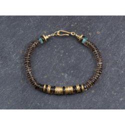 Bracelet Bahia quartz fumé par Emmanuelle Zysman