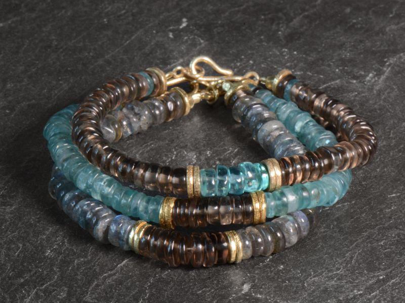 Bracelets Sougia par Emmanuelle Zysman