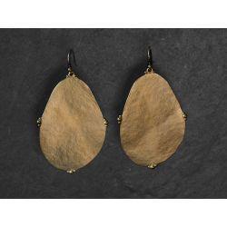 Bao Vermeil Earrings LM by Emmanuelle Zysman