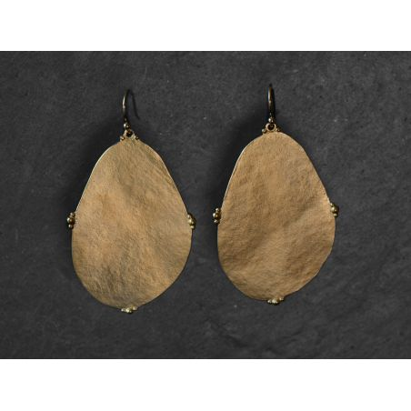 Bao Vermeil Earrings LM by Emmanuelle Zysman