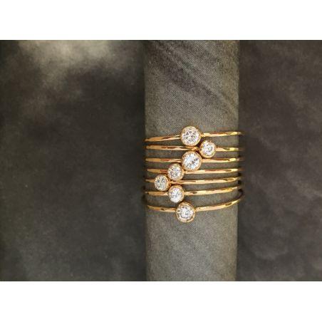 Semainier Or Jaune Diamants par Emmanuelle Zysman