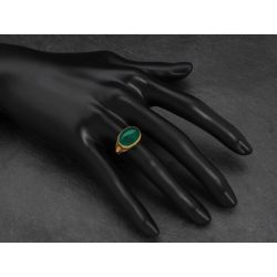 BB Fedora vermeil ring by Emmanuelle Zysman