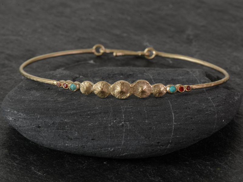 Bracelet Seeds vermeil par Emmanuelle Zysman