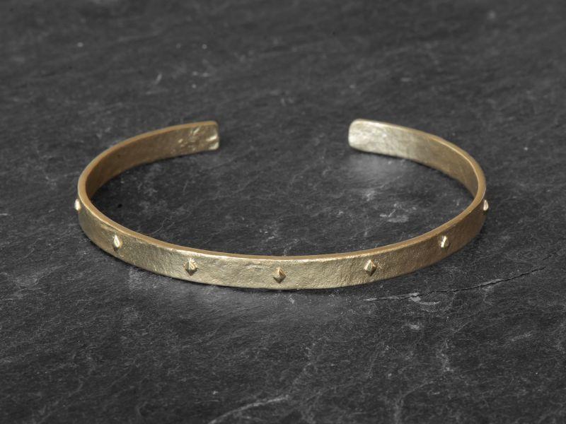 Sigrid Vermeil Bracelet SM by Emmanuelle Zysman