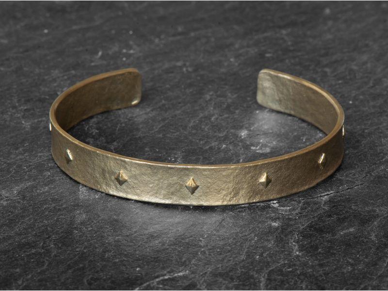 Sigrid Vermeil large Bracelet by Emmanuelle Zysman