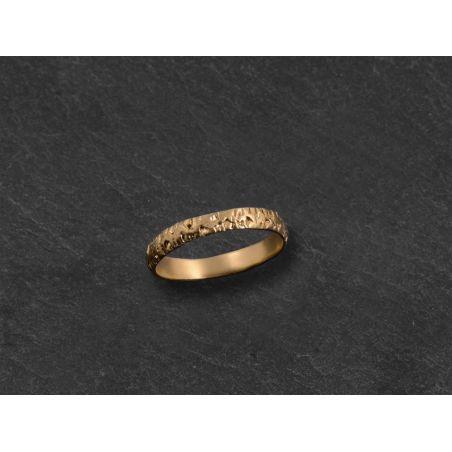 Naxos PM vermeil ring by Emmanuelle Zysman