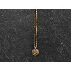 Baby Star vermeil necklace by Emmanuelle Zysman