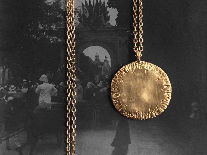 Collier Ithaque vermeil par Emmanuelle Zysman