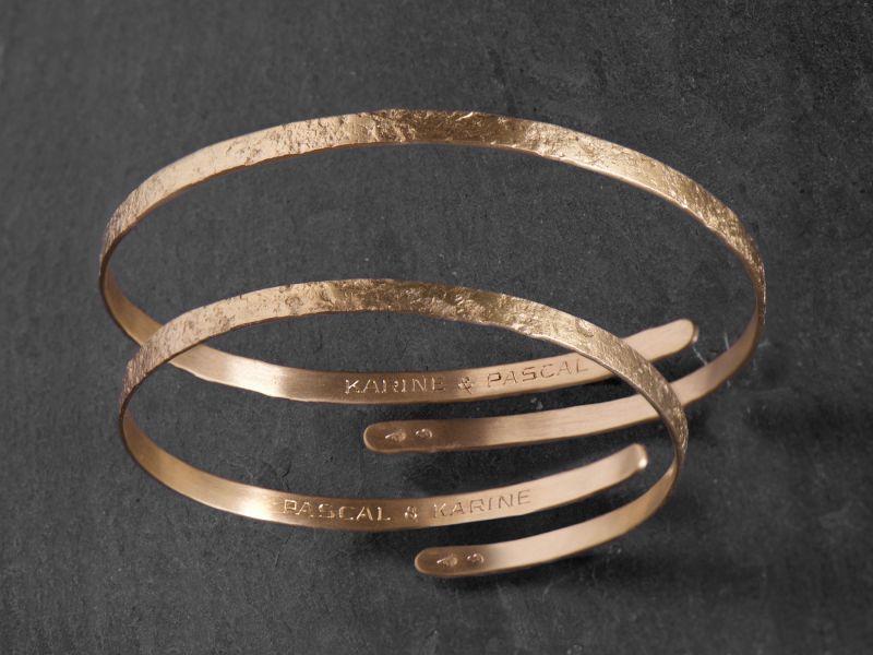 Gravure sur bracelet Diane