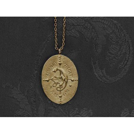 Cressida vermeil necklace by Emmanuelle Zysman