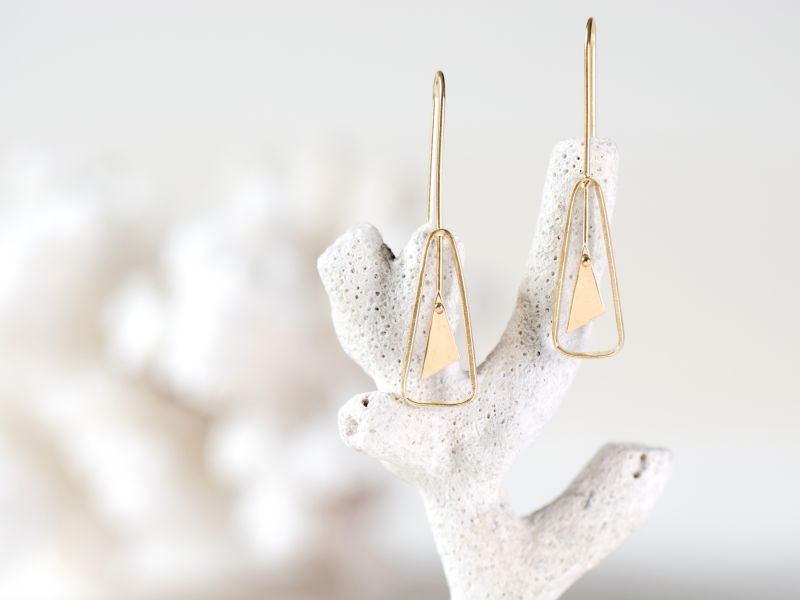 Goa vermeil earrings