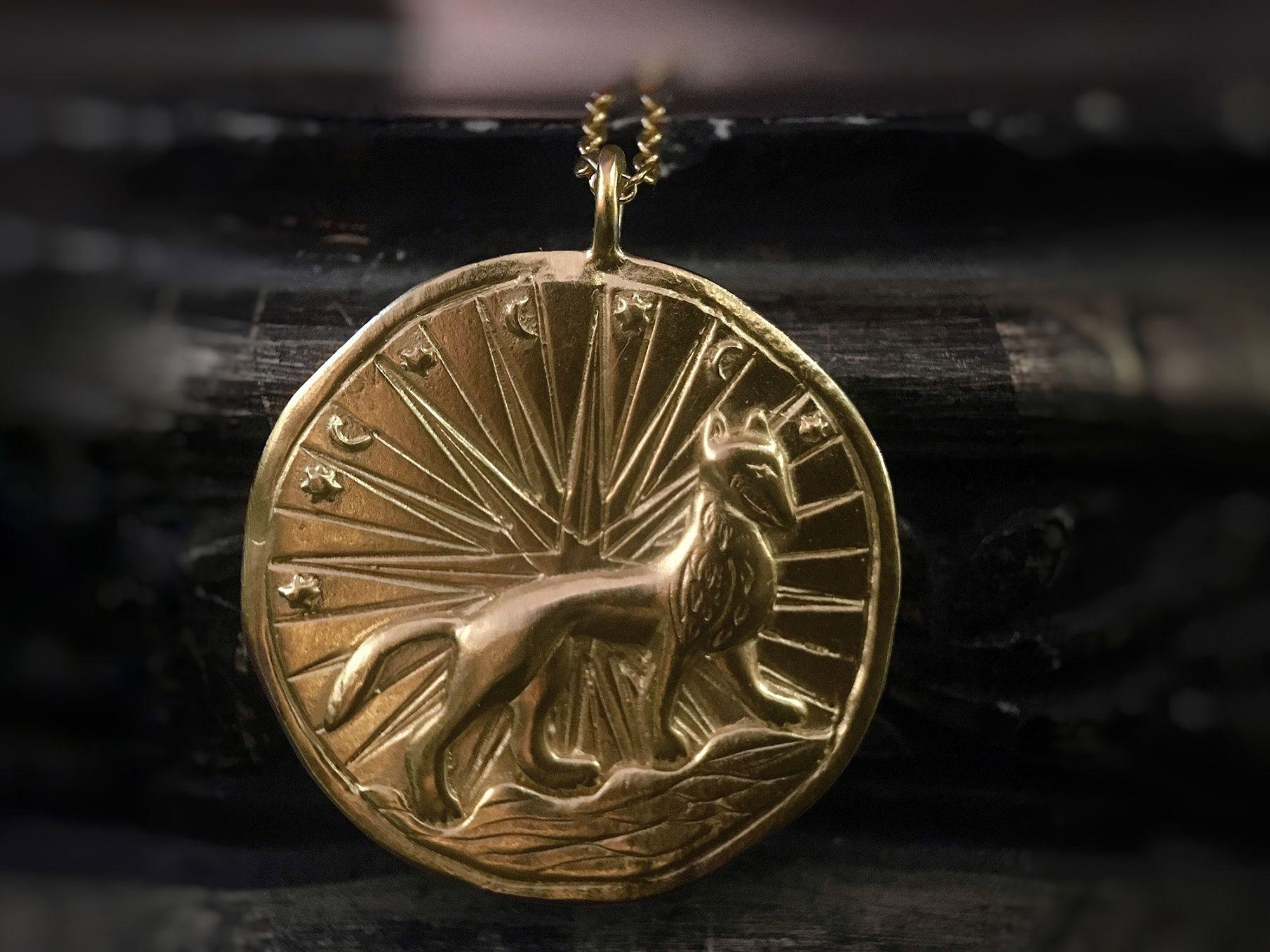 Hermione necklace by Emmanuelle Zysman