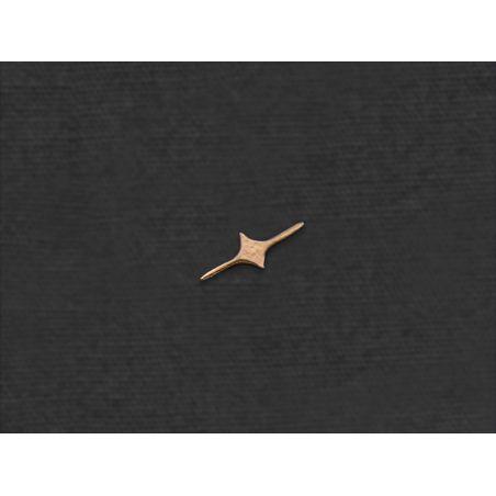 Comet mini stud earring by Emmanuelle Zysman