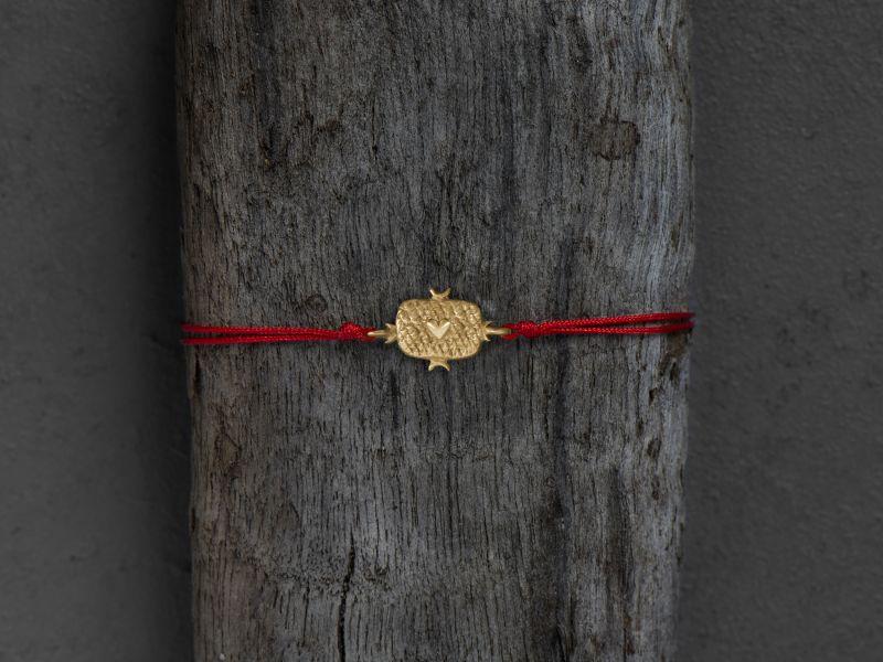 Lancelot vermeil bracelet by Emmanuelle Zysman