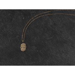 Omnia Vincit vermeil necklace by Emmanuelle Zysman