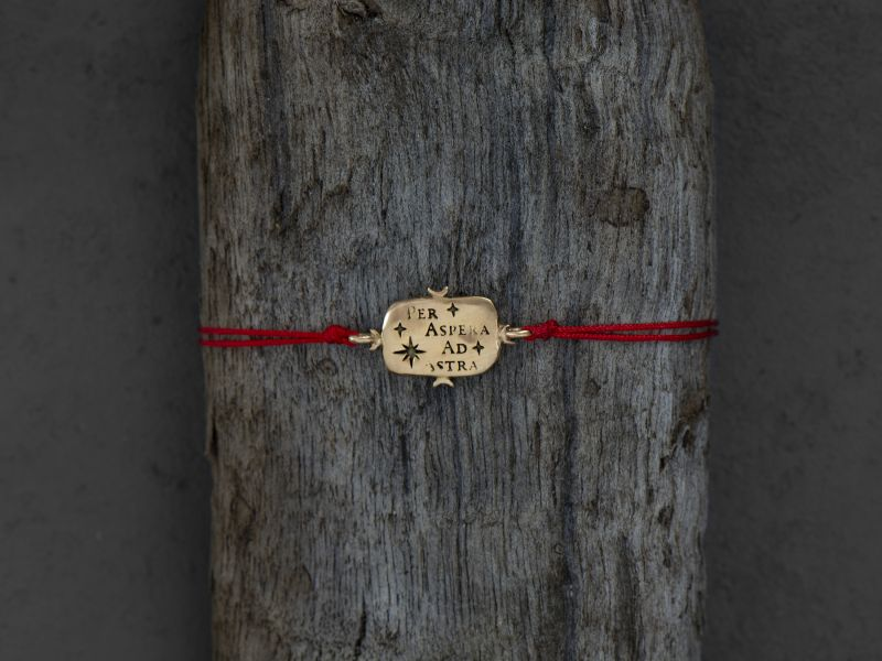 Ad Astra vermeil bracelet by Emmanuelle Zysman