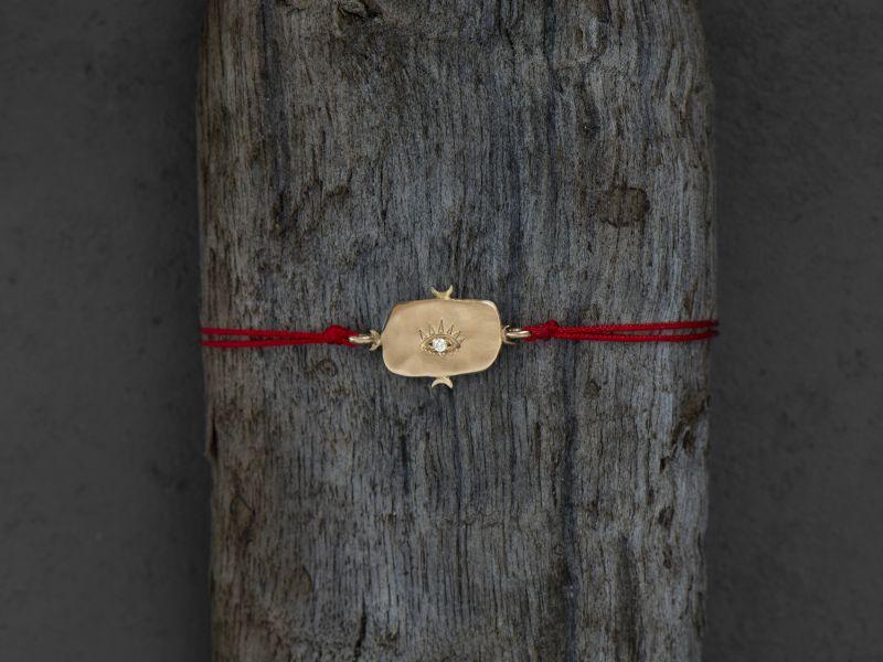 Viviane vermeil bracelet by Emmanuelle Zysman