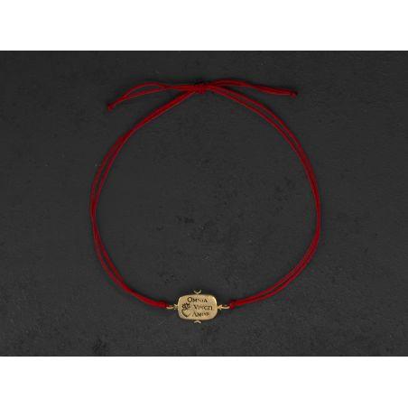 Bracelet Omnia Vincit par Emmanuelle Zysman