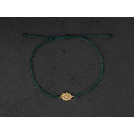 Lancelot gold bracelet by Emmanuelle Zysman