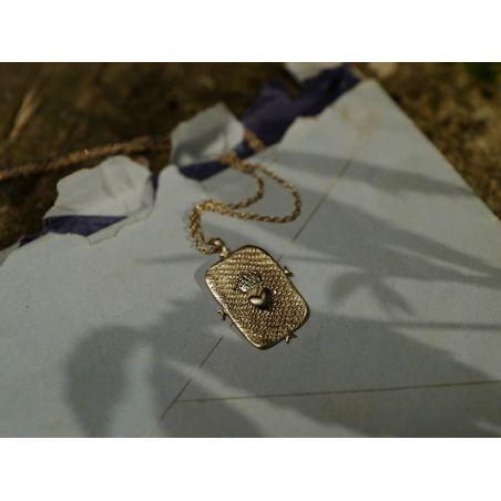 Lancelot large vermeil necklace by Emmanuelle Zysman