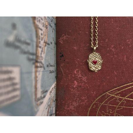 Lancelot small vermeil necklace by Emmanuelle Zysman