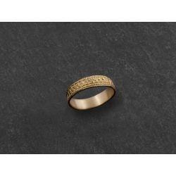 Ida yellow gold ring by Emmanuelle Zysman