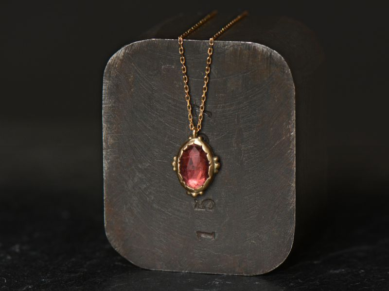 Rosecut tourmaline and...