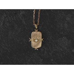 Viviane gold necklace by Emmanuelle Zysman