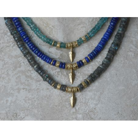 Sougia vermeil necklace by Emmanuelle Zysman